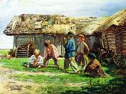 воспитание в древней руси